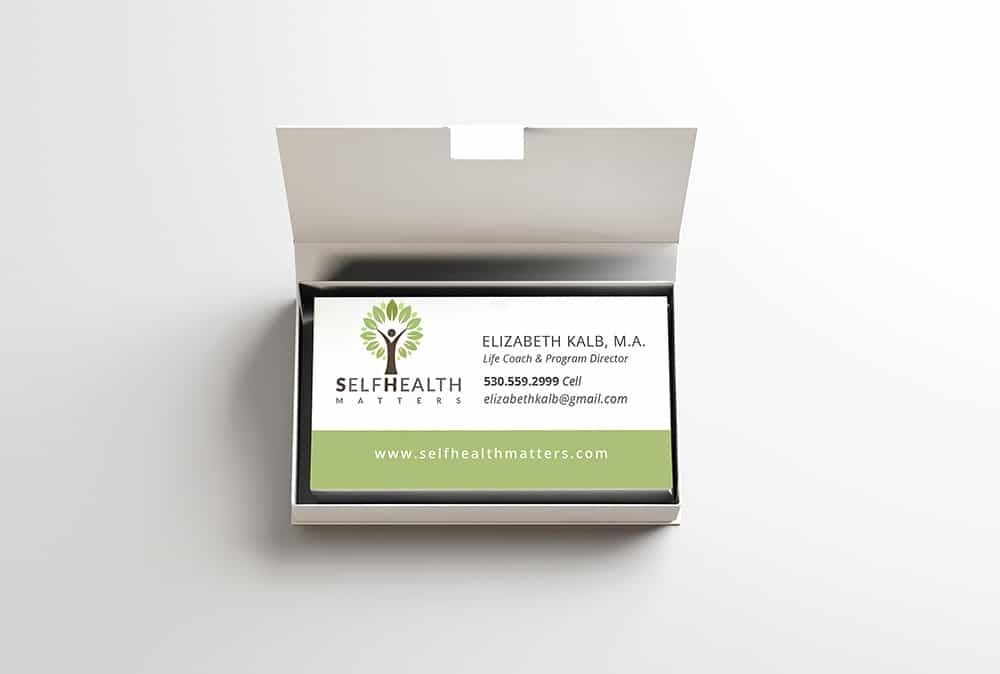 Self Health Matters business cards
